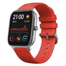 Умные часы Xiaomi Amazfit GTS Orange (черный/оранжевый)