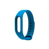 Однотонный браслет для Xiaomi Mi Band 3 Blue