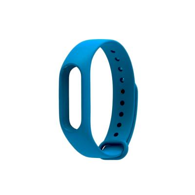 Силиконовый ремешок для Xiaomi Mi Band 3 Синий