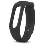 Однотонный браслет для Xiaomi Mi Band 3 Black