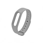 Силиконовый ремешок для Xiaomi Mi Band 3 Серый