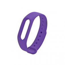 Силиконовый ремешок для Xiaomi Mi Band 3 Фиолетовый