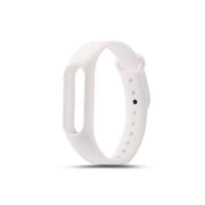 Силиконовый ремешок для Xiaomi Mi Band 3 Белый