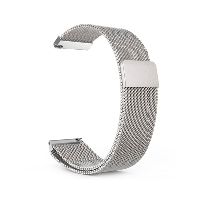 Металлический браслет для Xiaomi AmazFit Bip Silver