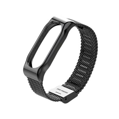 Металлический браслет для Xiaomi Mi Band 3 Black