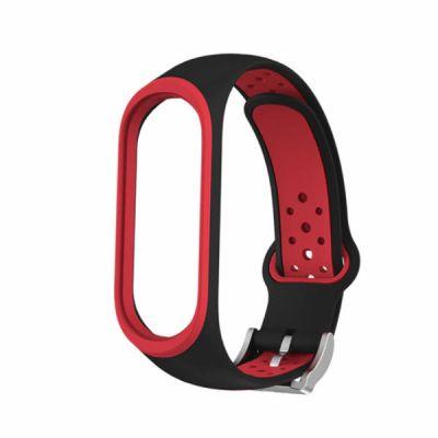 Силиконовый ремешок для Xiaomi Mi Band 4 Красный