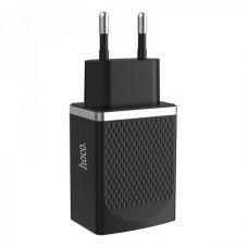 Сетевой адаптер HOCO C42A Fast power Charger 3.0 чёрный