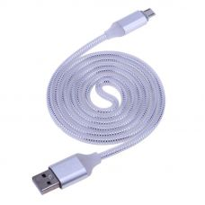 Кабель microUSB Led White