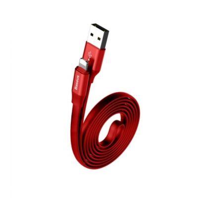 USB дата кабель Baseus Cable Lightning 1м (Красный)