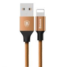 USB дата кабель Baseus Yiven for Apple 1.2м (Коричневый)