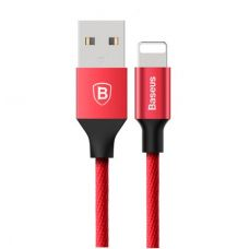 USB дата кабель Baseus Yiven for Apple 1.2м (Красный)