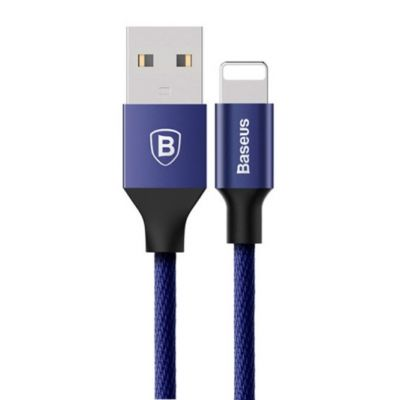 USB дата кабель Baseus Yiven for Apple 1.2м (Синий)