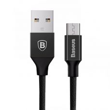 USB дата кабель Baseus Yiven for Micro USB 1.5M (Черный)