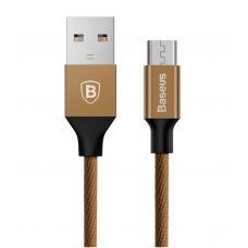 USB дата кабель Baseus Yiven for Micro USB 1.5M (Коричневый)