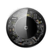 Беспроводное зарядное устройство Baseus Simple Wireless Charger (Transparent) CCALL-AJK01