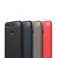 Карбоновый чехол для Huawei Honor 7A Pro/Y6 Prime