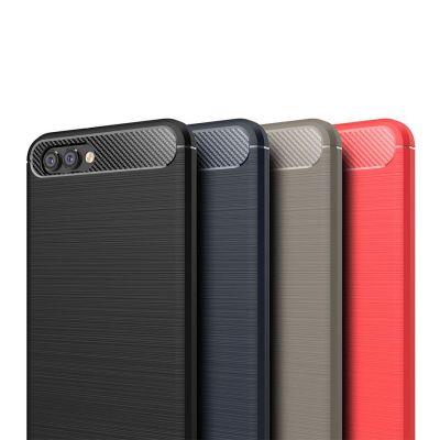 Карбоновый чехол для Huawei Honor V10