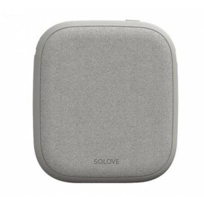 Внешний аккумулятор с беспроводной зарядкой Xiaomi Solove Wireless Charging Treasure W5 (Black)