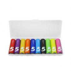 Батарейки ZMI Xiaomi AA501 Rainbow ZI5 типа AA, 10 шт