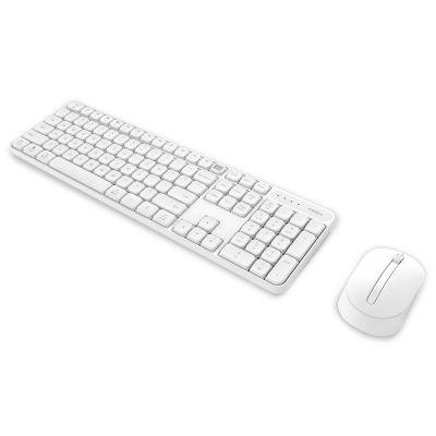 Беспроводная клавиатура+мышь MIIIW Wireless Combo White