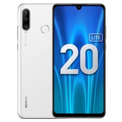 Смартфон Honor 20 Lite 4/128 Gb White (RU) Ледяной белый