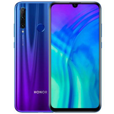 Смартфон Honor 20 Lite 4/128 Gb Blue (RU) Сияющий ультрамарин