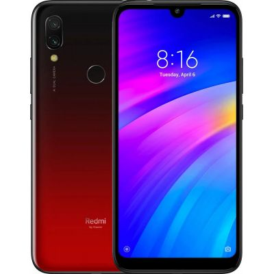 Смартфон Redmi 7 2/16Gb Red (Красный) Global EU