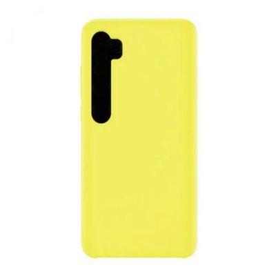 Клип-кейс Soft Touch для  Xiaomi Mi Note 10 Желтый