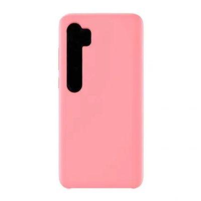 Клип-кейс Soft Touch для  Xiaomi Mi Note 10 lite Розовый
