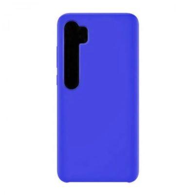 Клип-кейс Soft Touch для  Xiaomi Mi Note 10 Синий