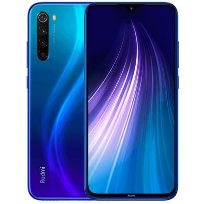 Смартфон XIaomi Redmi Note 8T 4/128 Gb Blue (Синий) Global EU