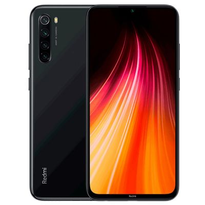 Смартфон XIaomi Redmi Note 8 4/128 Gb Black (Черный) Global EU