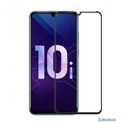 Защитное стекло для Honor 10i (полное покрытие) Черное