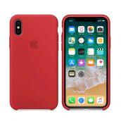 Клип-кейс Soft Touch для iPhone X Красный