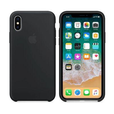 Клип-кейс Soft Touch для iPhone X Черный