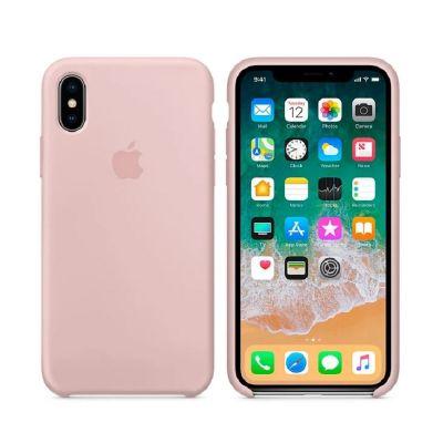 Клип-кейс Soft Touch для iPhone X Розовый