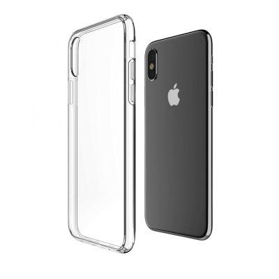 Силиконовый чехол для iPhone X Прозрачный