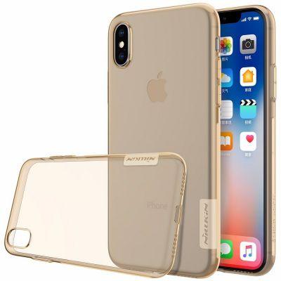 Nillkin TPU Case для iPhone X Оранжевый