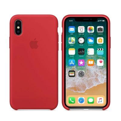 Клип-кейс Soft Touch для iPhone XS Max Красный