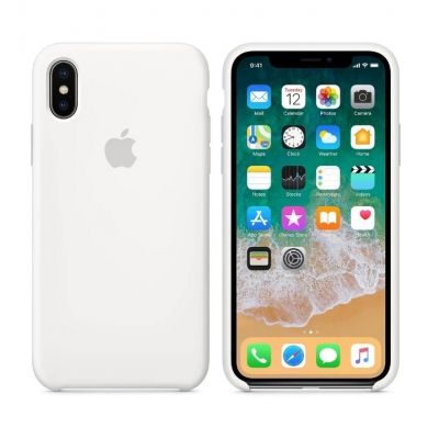 Клип-кейс Soft Touch для iPhone XS Max Белый