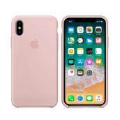 Клип-кейс Soft Touch для iPhone XS Max Розовый