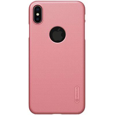 Клип-кейс Nillkin для iPhone XS Max Розовый