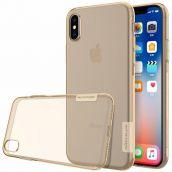 Nillkin TPU Case для iPhone XS Max Золотой