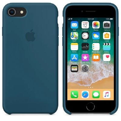 Клип-кейс Soft Touch для iPhone 7/8 Синий