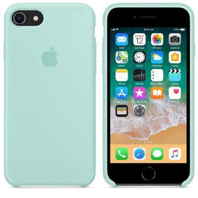 Клип-кейс Soft Touch для iPhone 7/8 Бирюзовый