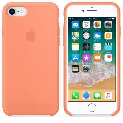 Клип-кейс Soft Touch для iPhone 7/8 Оранжевый