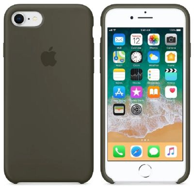 Клип-кейс Soft Touch для iPhone 7/8 Серый