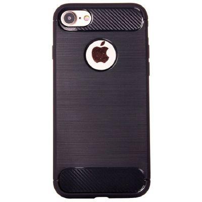 Карбоновый чехол для iPhone 7/8 Черный