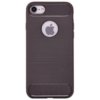 Карбоновый чехол для iPhone 7/8 Серый