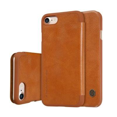 Nillkin Qin Case для iPhone 7/8 Коричневый